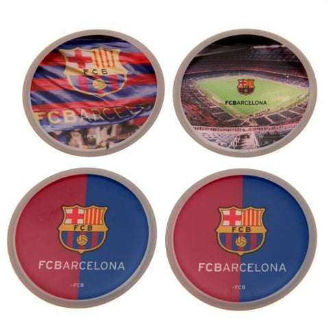 FC Barcelona 3D Stickers 4pk - footballextreme.shop