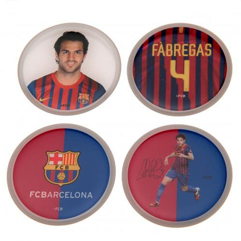 FC Barcelona 3D Stickers 4pk Fabregas - footballextreme.shop