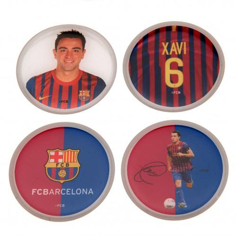 FC Barcelona 3D Stickers 4pk Xavi - footballextreme.shop