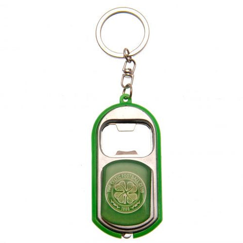 Celtic FC Key Ring Torch Bottle Opener - footballextreme.shop