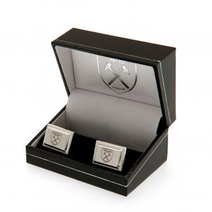 West Ham United FC Silver Plated Cufflinks - footballextreme.shop