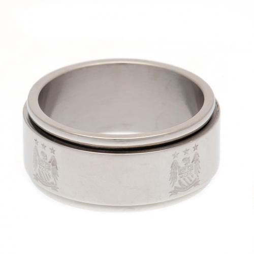 Manchester City FC Spinner Ring Small EC - footballextreme.shop