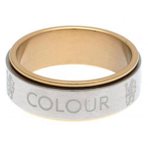 Chelsea FC Bi Colour Spinner Ring Small - footballextreme.shop