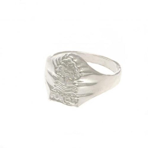 Nottingham Forest FC Silver Plated Crest Ring Medium - footballextreme.shop