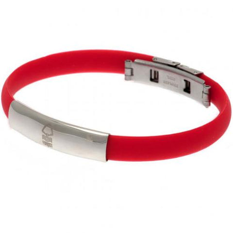 Nottingham Forest FC Colour Silicone Bracelet - footballextreme.shop