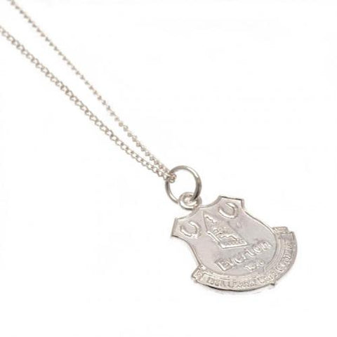 Everton FC Sterling Silver Pendant & Chain - footballextreme.shop