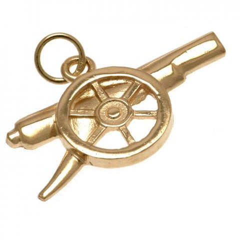 Arsenal FC 9ct Gold Pendant Cannon - footballextreme.shop