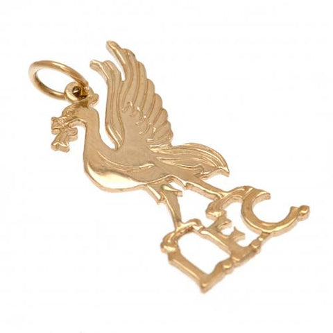 Liverpool FC 9ct Gold Pendant Liverbird - footballextreme.shop