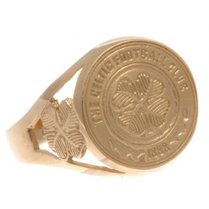 Celtic FC 9ct Gold Crest Ring Large - footballextreme.shop