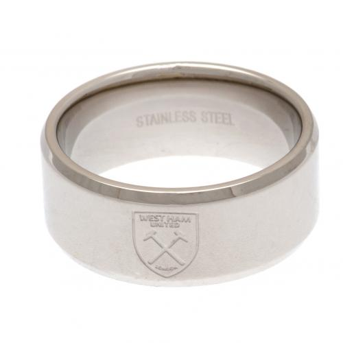 West Ham United FC Band Ring Medium - footballextreme.shop