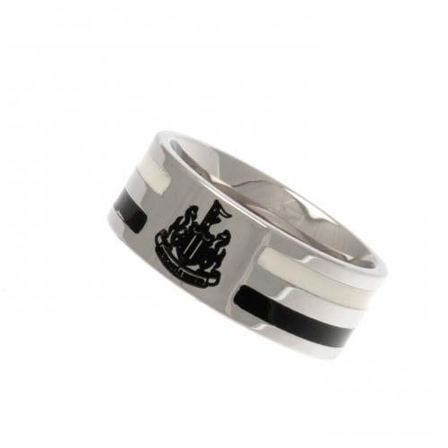 Newcastle United FC Colour Stripe Ring Medium - footballextreme.shop