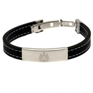 Newcastle United FC Stitched Silicone Bracelet - footballextreme.shop