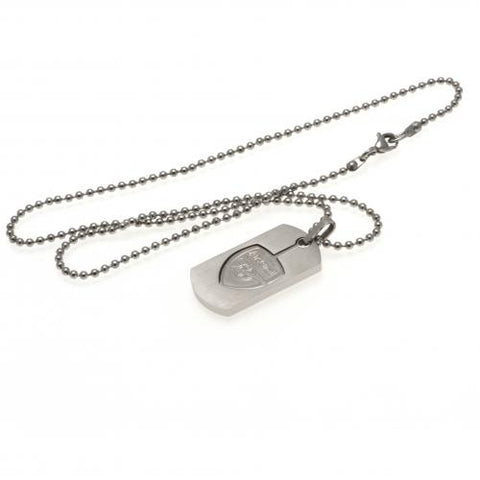 Arsenal FC Dog Tag & Chain CO CR - footballextreme.shop
