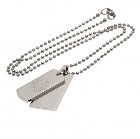 Newcastle United FC Double Dog Tag & Chain - footballextreme.shop