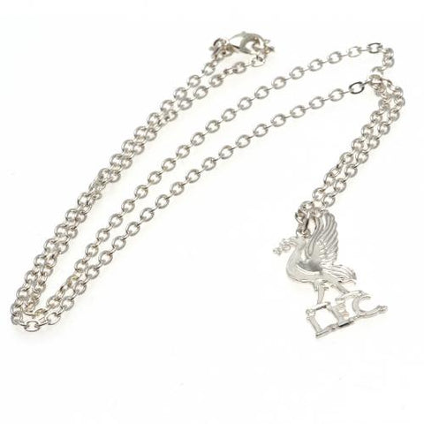 Liverpool FC Silver Plated Pendant & Chain LB - footballextreme.shop