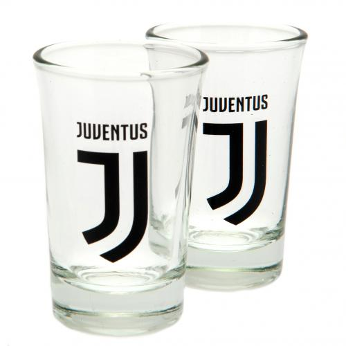 Juventus FC 2pk Shot Glass Set - footballextreme.shop