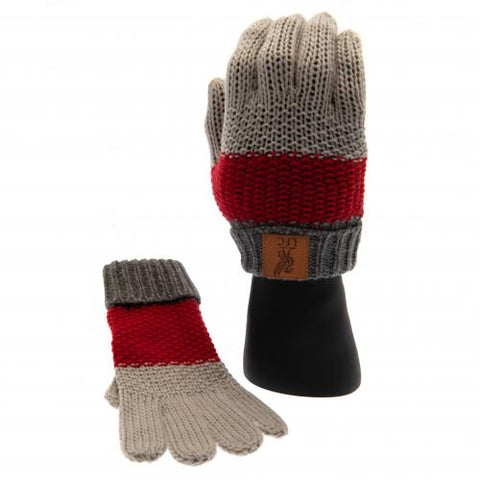 Liverpool FC Knitted Gloves Junior - footballextreme.shop