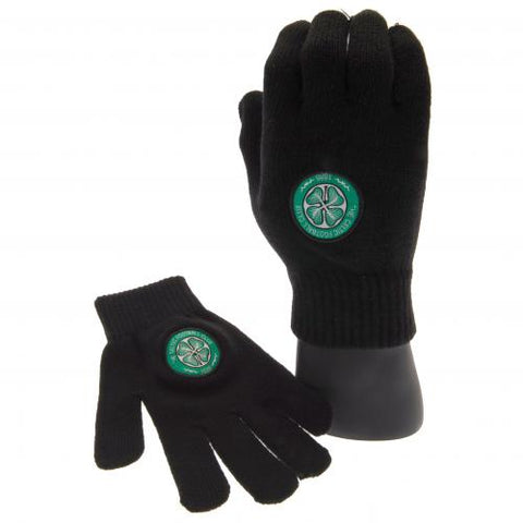 Celtic FC Knitted Gloves Yths - footballextreme.shop