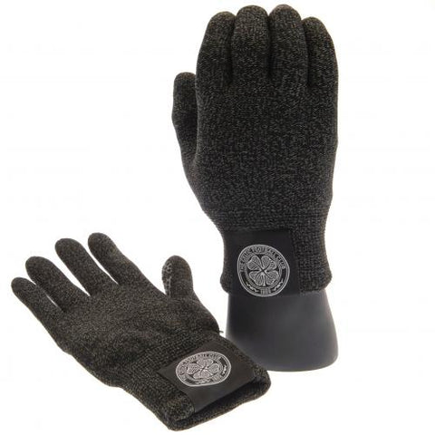 Celtic FC Luxury Touchscreen Gloves Youths - footballextreme.shop