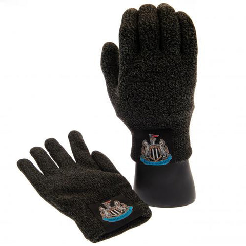 Newcastle United FC Luxury Touchscreen Gloves Youths - footballextreme.shop