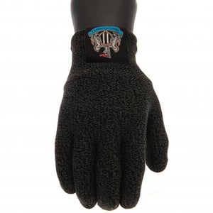 Newcastle United FC Luxury Touchscreen Gloves Adult - footballextreme.shop
