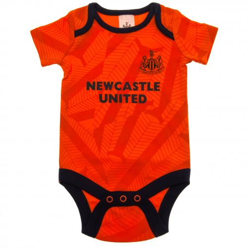 Newcastle United FC 2 Pack Bodysuit 12/18 mths OR - footballextreme.shop