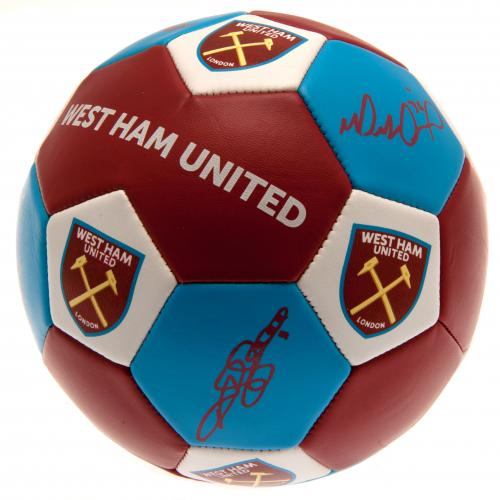 West Ham United FC Nuskin Football Size 3 - footballextreme.shop