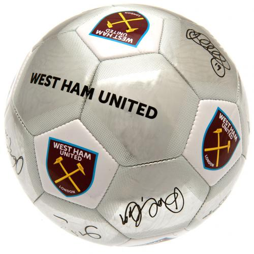 West Ham United FC Football Signature SV - footballextreme.shop