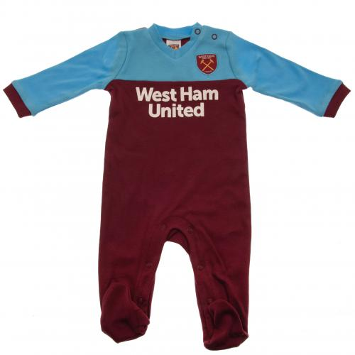 West Ham United FC Sleepsuit 9/12 mths ST - footballextreme.shop