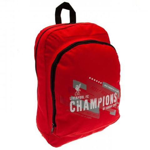 Liverpool FC Champions of Europe Backpack - footballextreme.shop
