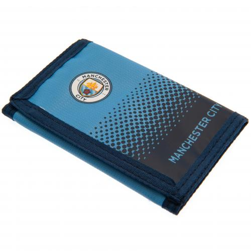 Manchester City FC Nylon Wallet - footballextreme.shop