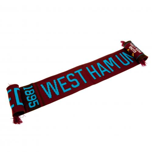 West Ham United FC Scarf NR - footballextreme.shop