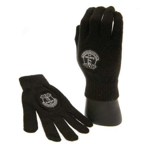 Everton FC Knitted Gloves Junior - footballextreme.shop