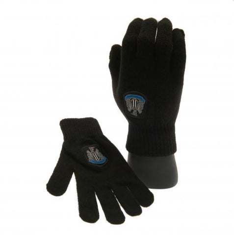 Newcastle United FC Knitted Gloves Junior - footballextreme.shop