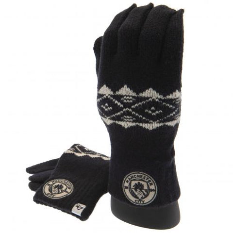 Manchester City FC Knitted Gloves Adult - footballextreme.shop