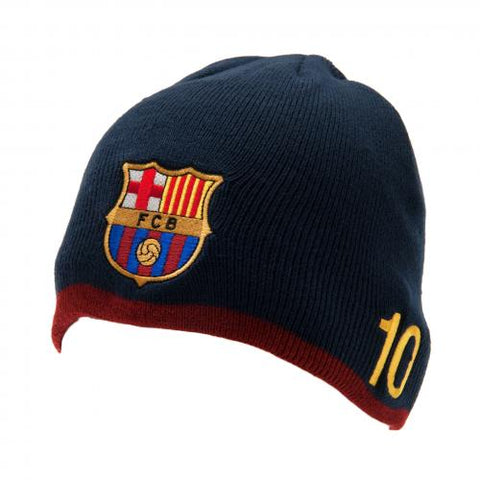 FC Barcelona Knitted Hat Messi - footballextreme.shop