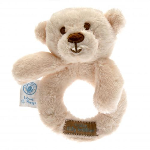 Manchester City FC Baby Rattle Hugs - footballextreme.shop