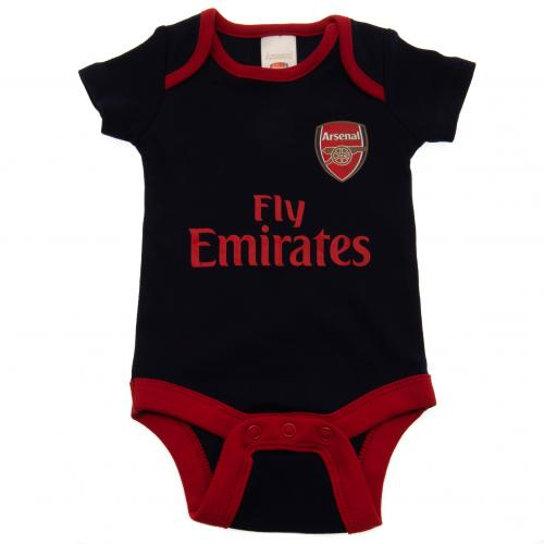 Arsenal FC 2 Pack Bodysuit 9/12 mths NR - footballextreme.shop