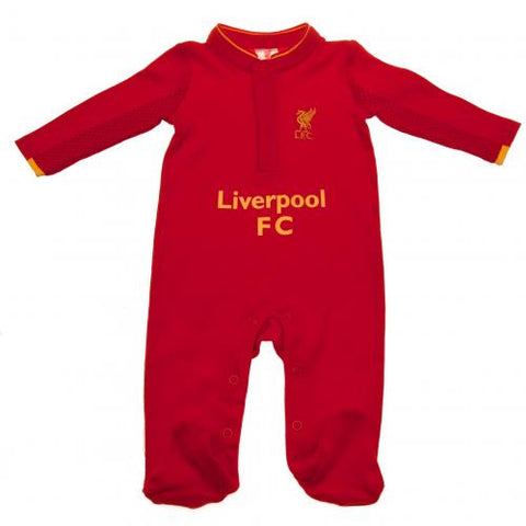 Liverpool FC Sleepsuit 9/12 mths GD - footballextreme.shop