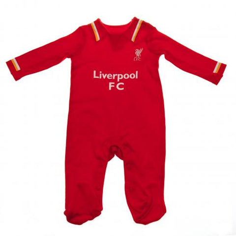 Liverpool FC Sleepsuit 9/12 mths RW - footballextreme.shop