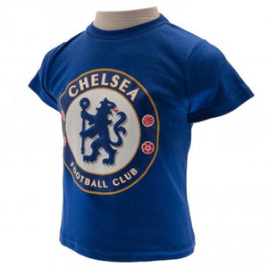 Chelsea FC T Shirt & Short Set 6/9 mths - footballextreme.shop