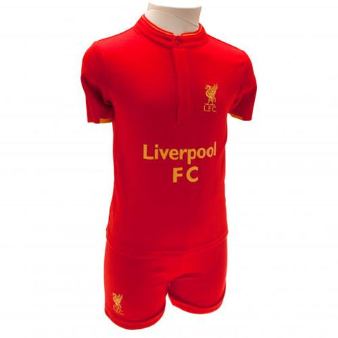Liverpool FC Shirt & Short Set 9/12 mths GD - footballextreme.shop