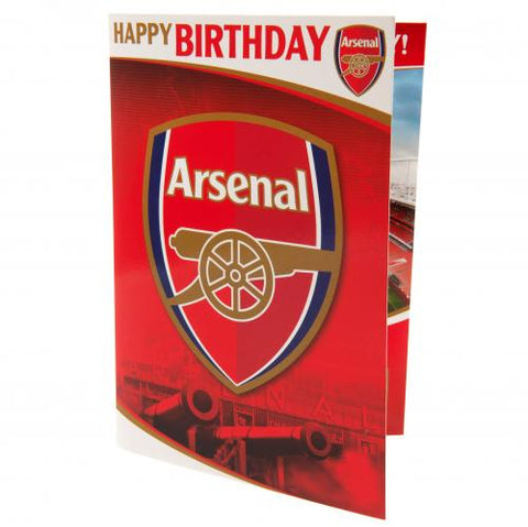 Arsenal FC Musical Birthday Card - footballextreme.shop