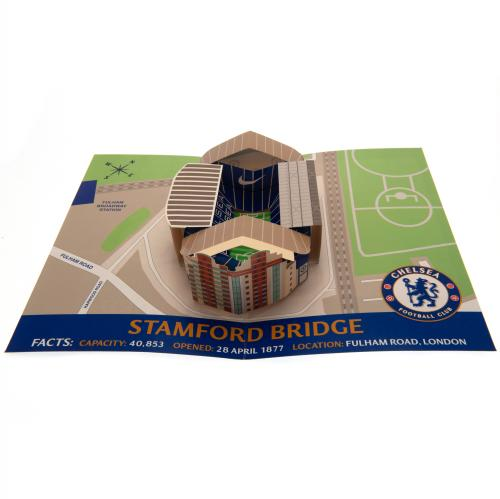 Chelsea FC Pop-Up Birthday Card - footballextreme.shop