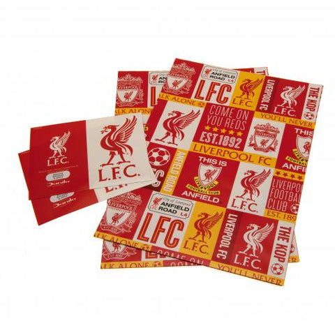 Liverpool FC Gift Wrap - footballextreme.shop