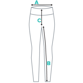 Sizing Chart for UnderOneMoon Yoga Leggings