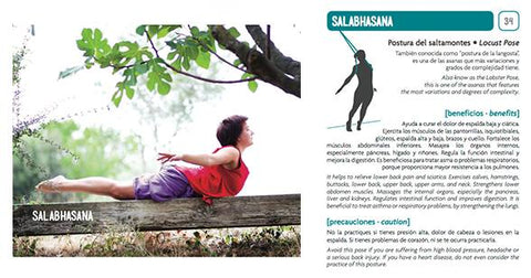 Salabhasana yoga card