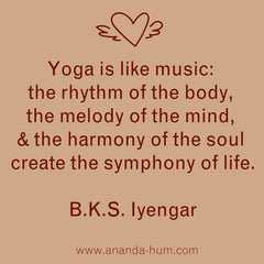 Iyengar quote yoga