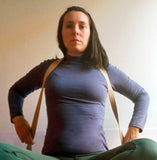 use yoga strap to open chest