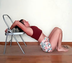 shoulder mobility yoga chair